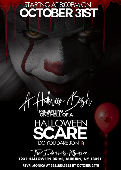 Pennywise Invitations