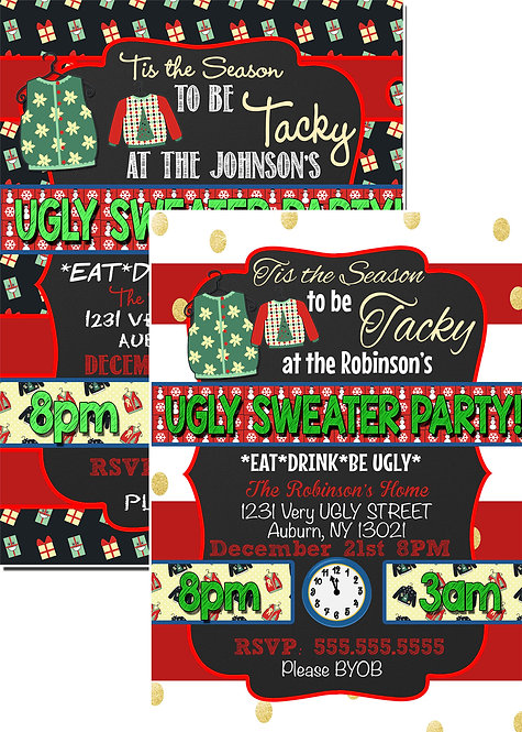 Season to be Tacky Ugly Sweater