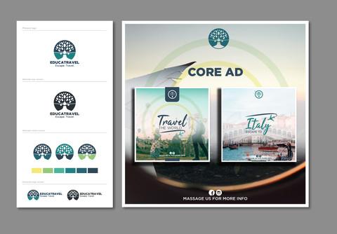 EducaTravel - Brand Identity