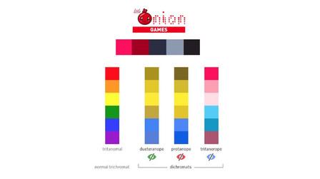 littleOnion Game Color Palette