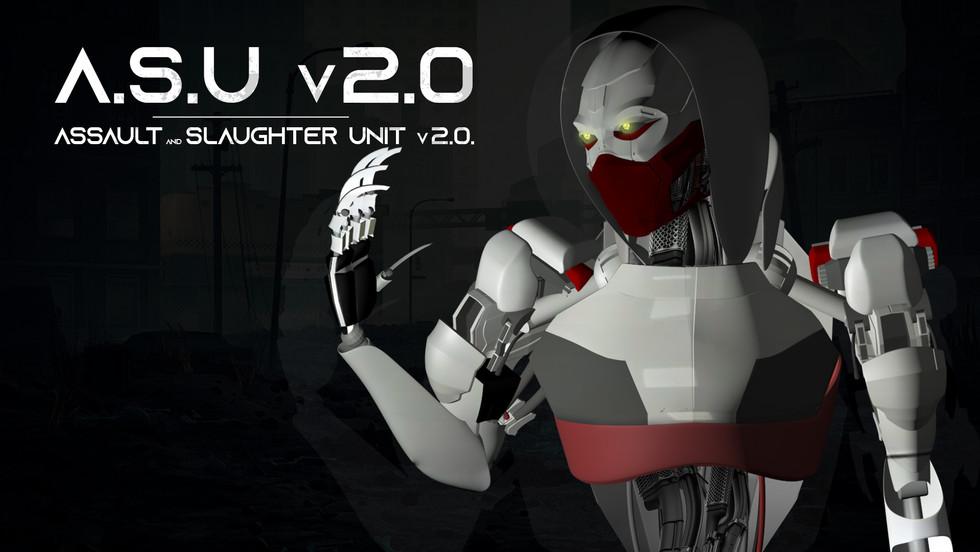 Project Cyborg: 3D Model