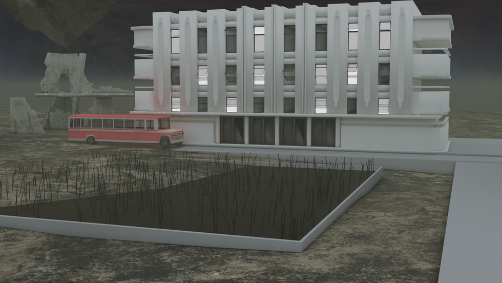 Project Past: Exterior Scene