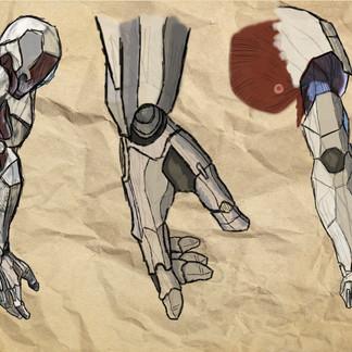Project Cyborg: Arm Concept