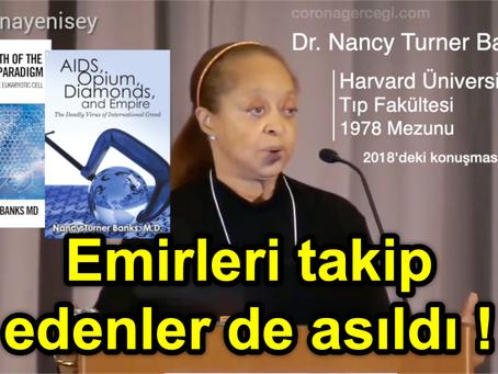 EMİRLERİ TAKİP EDENLER DE ASILDI❗️ Dr. Nancy Turner Banks