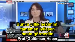 Bunca yıllık hekimim, tamamen iyileşen hasta görmedim - Prof. Gülümser Heper
