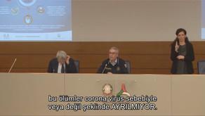 İtalya Sivil S. Başkanı: Ölümler Koronadan veya Başka Bir Nedenden Diye Ayırım Yapmaksızın Sayılıyor