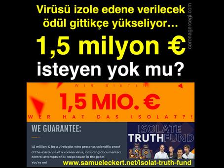 1,5 milyon € isteyen yok mu?