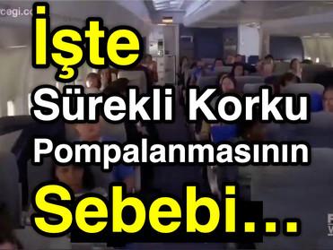 KORKUNUN YOL AÇTIKLARI ve Sürekli Korku Pompalanmasının SEBEBİ...