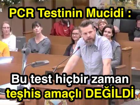 PCR Testinin Mucidi : Bu test TEŞHİS AMAÇLI DEĞİLDİR !