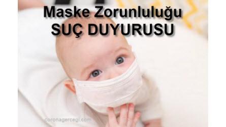Maske Zorunluluğu SUÇ DUYURUSU