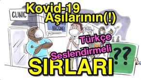 Kovid-19 ajılarının SIRLARI (Türkçe SESLENDİRMELİ)