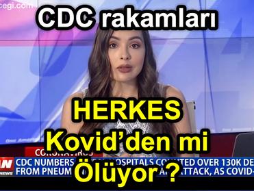 HERKES Kovid'den mi ÖLÜYOR? [ CDC Rakamları Tersini Söylüyor ]
