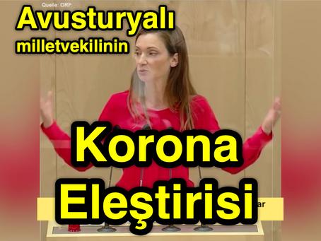 Avusturyalı Milletvekilinin Korona ELEŞTİRİSİ