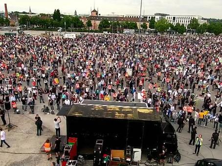 ALMANYA'da Corona Protestoları - CANLI 16:30