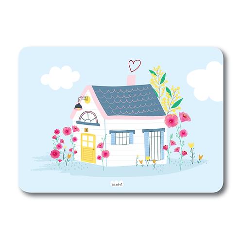 """Carte """"Maison Bleue"""""""