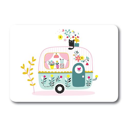 "Carte ""Caravane"""