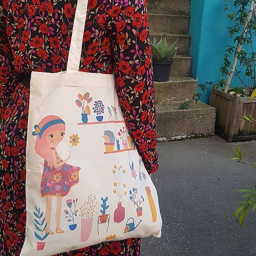 "Tote Bag ""Labo Floral"""