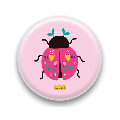 """Badge """"Coccinelle"""""""