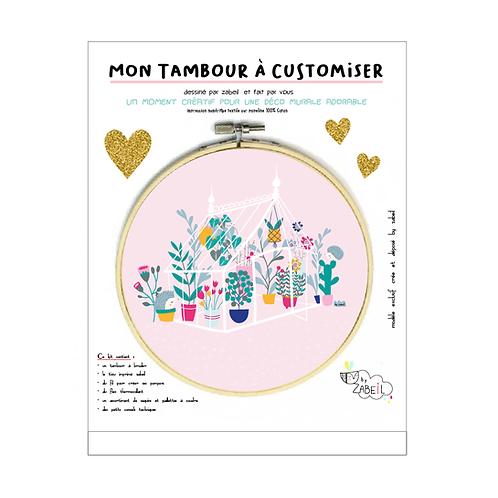 """Kit """"Custom"""" pour Tambour déco """"Serre Botanique"""""""