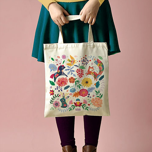 "Tote Bag ""Folk Pattern"""