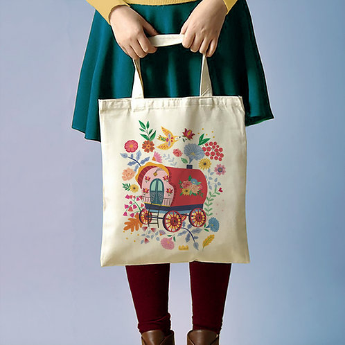 """Tote Bag """"Roulotte"""""""