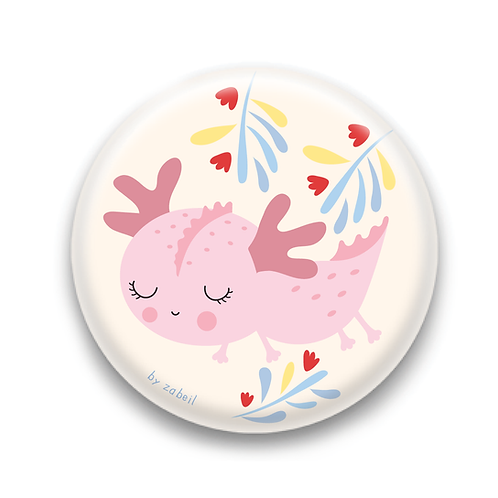 "Badge ""Axolotl"""