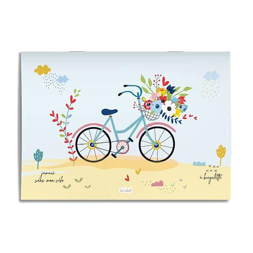 "Carnet ""Bicyclette"" A6"