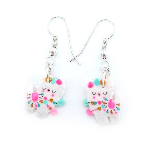 "boucles d'oreilles mini""Lama"""