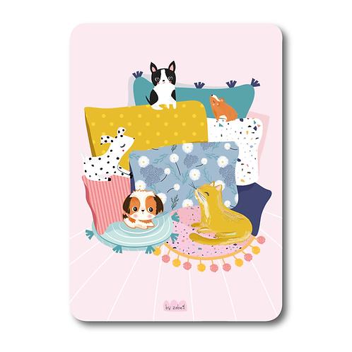 """Carte """"Chill Animals"""""""