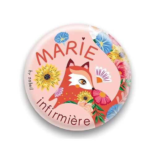 Réservé Marie - Badges personnalisés