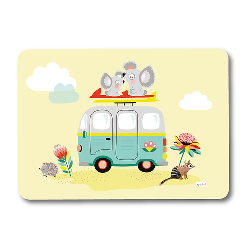 "Carte ""Combi Koala"""