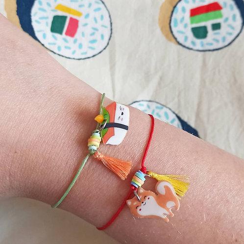 "Bracelet ""Sushi"" - gamme bijoux foufou"