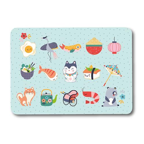 """Carte """"Sushi"""" pour Japan addict"""