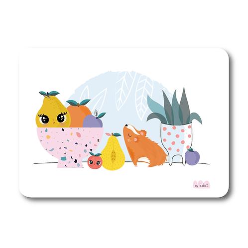 "Carte ""Fruits Party"""