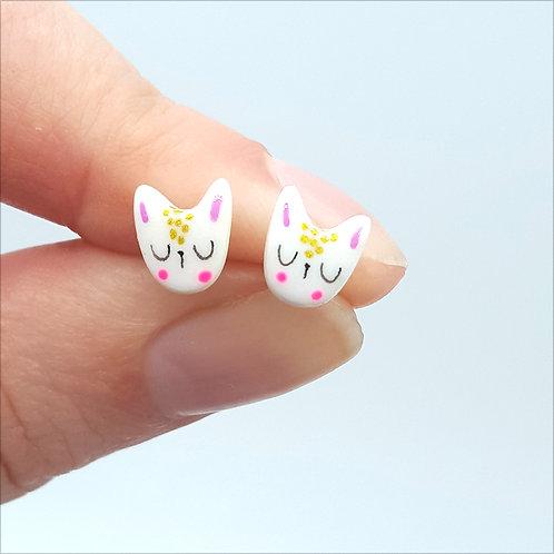 """Puces d'oreilles """"Tête de lapin"""""""