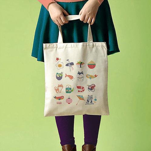 "Tote Bag ""SUSHI"""
