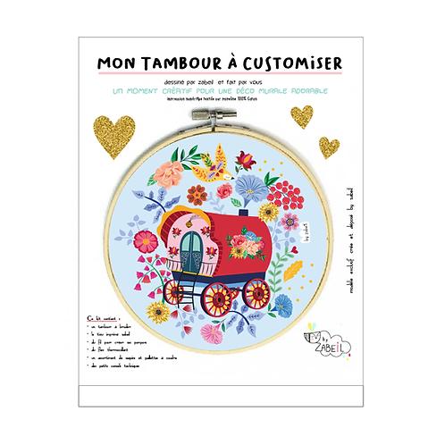 """Kit """"Custom"""" pour Tambour déco """"ROULOTTE"""""""