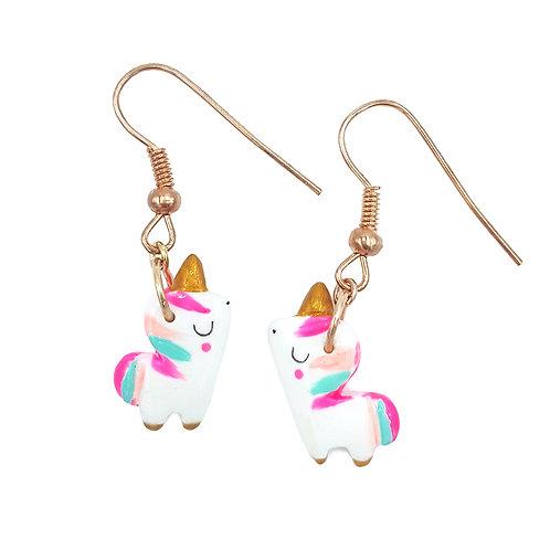 """Boucles d'oreilles mini """"licornes"""""""