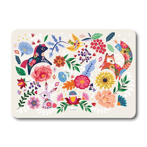 """Carte """"Folk Pattern"""""""