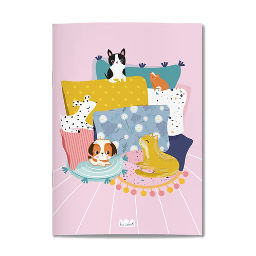 "Carnet ""Chill animals"" A6"