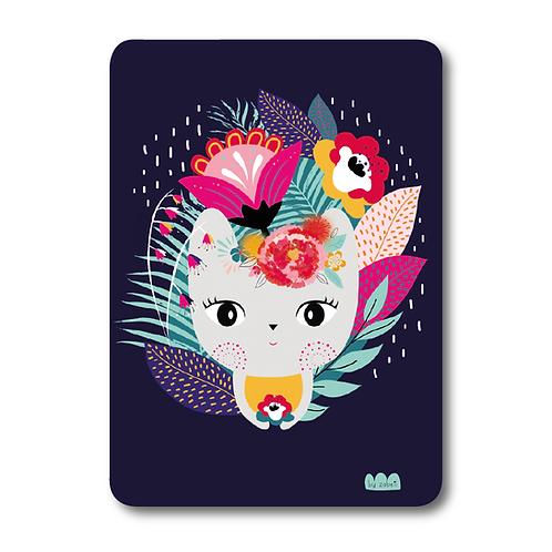 "Carte ""Frida Chat"""