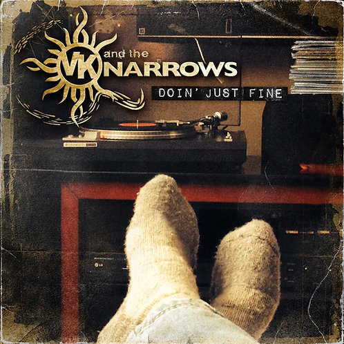 VK (and the NARROWS) – DOIN' JUST FINE - CD