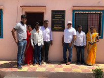House Handover program at Amdabad village by Shri. Deepak Nathani