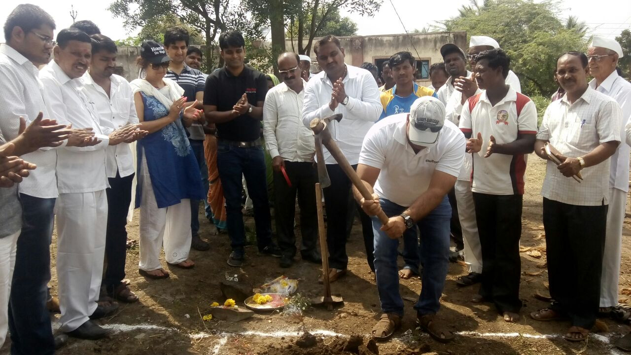 Deepak Nathani Inaugrated Homes for Tribal in Amdabad Village