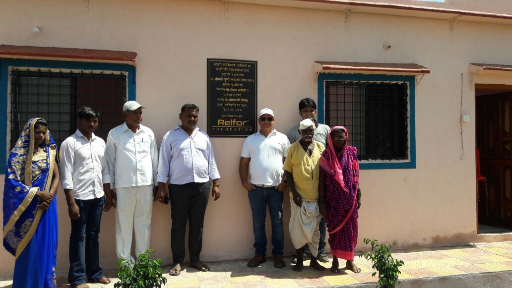 House Handover program at Amdabad village by Shri. Deepak Nathani