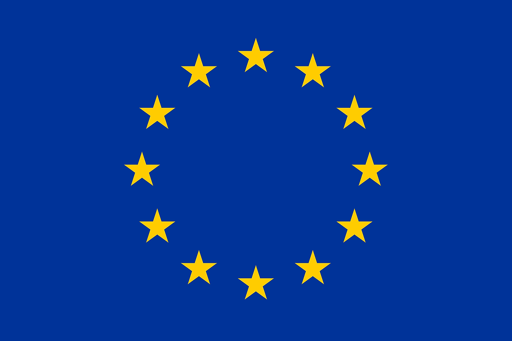 Drapeau de l'Union européenne Au sein des Institutions de l'Union, l'identité européenne n'est que peu évoquée. L'idée d'un espace unifié repose essentiellement sur des symboles comme la monnaie unique, l'hymne européen ou encore le drapeau de l'Union : ce dernier incarne l'unité et la parité (le cercle), l'espoir et la perfection (les étoiles) et enfin le ciel et l'univers (bleu). Copyright : cvce.eu