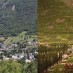 déforestation, avant, après, Pyrénées, Luz-Saint-Sauveur, crue torrentielle, déboisement, reboisement, causerie culturelle, conférence, diaporama,