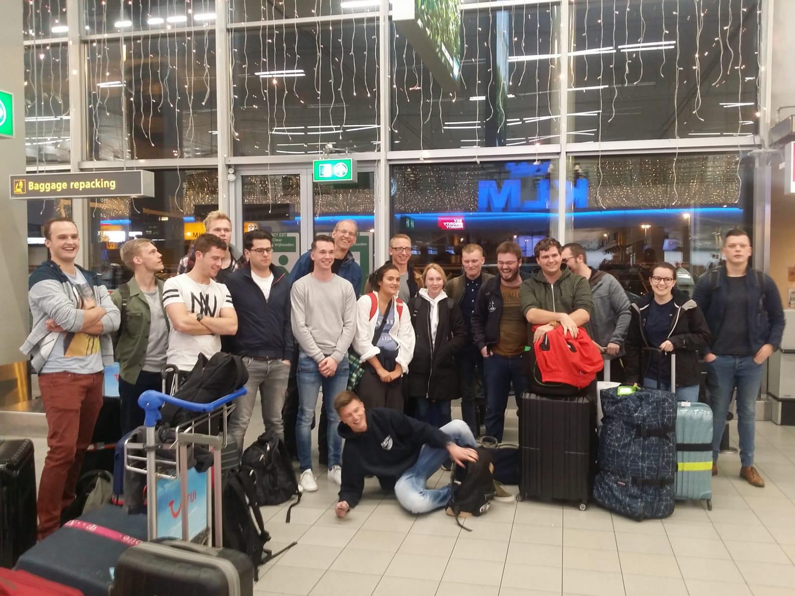 Rotterdam students arriving KLIA_16.11