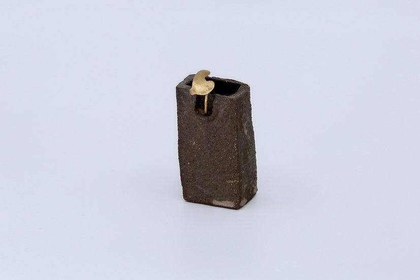 Petite sculpture vase, collection Les habitants