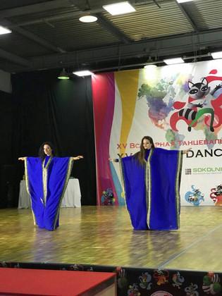 Интервью с нашим дуэтом на Всемирной Танцевальной олимпиаде-2018